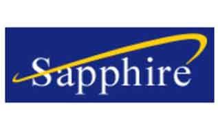 Apparel retail brand: sapphire logo