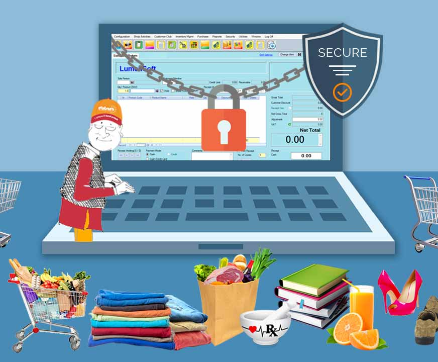 secure POS and inventory management software