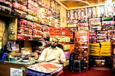 Fabric Wholesaler in Azam Cloth Market